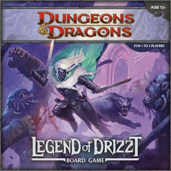 Legend of Drizzt Boardgame (engl.)
