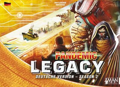 Pandemic Legacy - Season 2 gelb (deutsch)