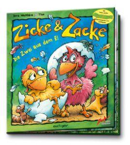 Zicke & Zacke: Die zwei aus dem Ei (Buch)