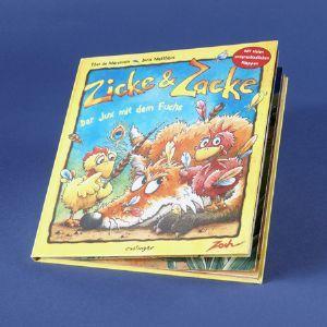 Zicke & Zacke: Der Jux mit dem Fuchs (Buch)